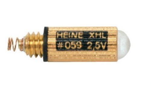 Ampoule 2,5V XHL Xénon Halogène Heine 059