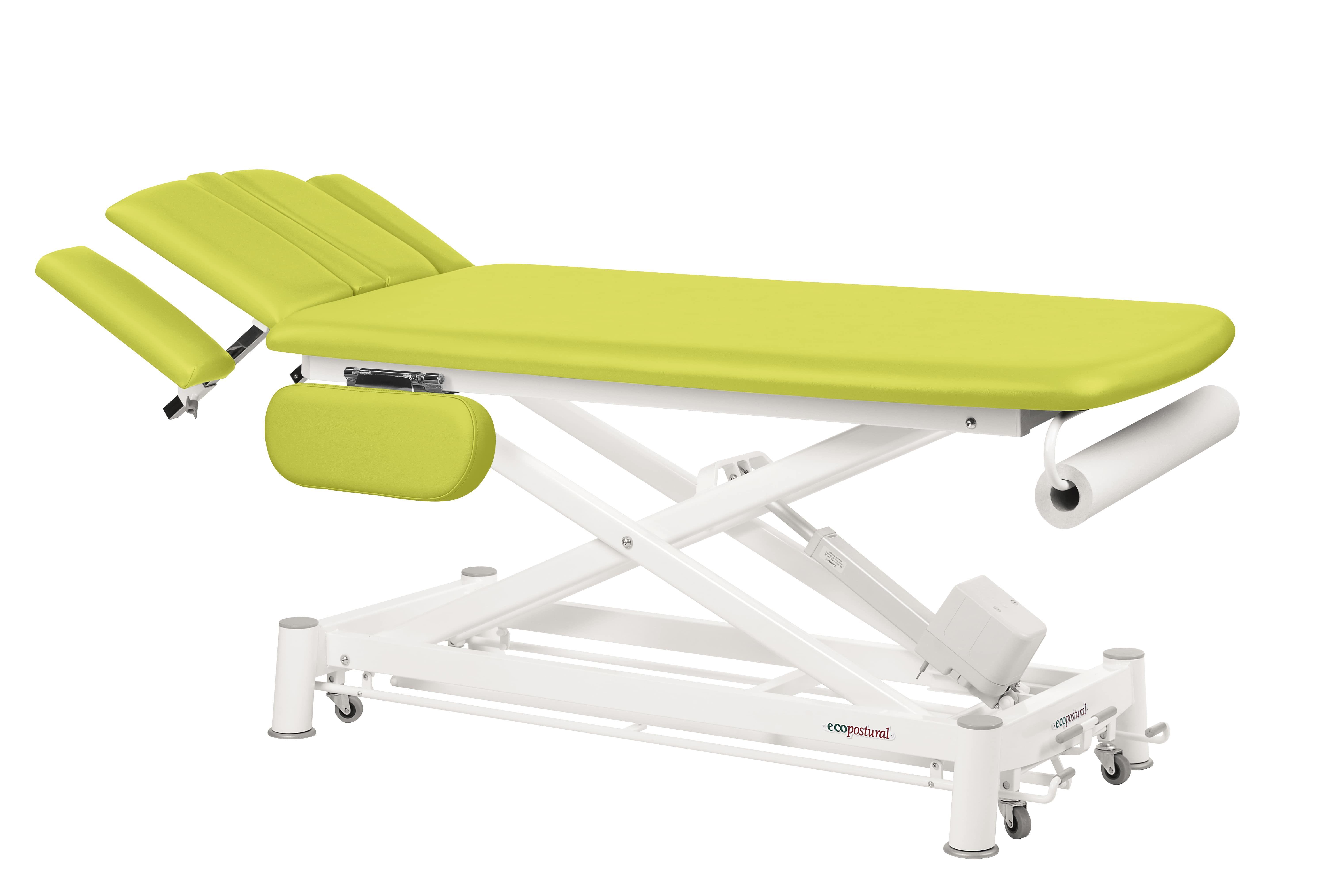 Table de massage électrique pour ostéo et kiné avec accoudoirs Ecopostural  C12