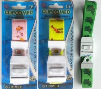 Garrot à clip réutilisable modèle enfant Coloris vert