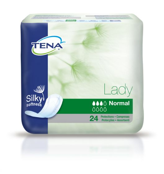 Protection anatomique TENA Lady Normal pack de 24