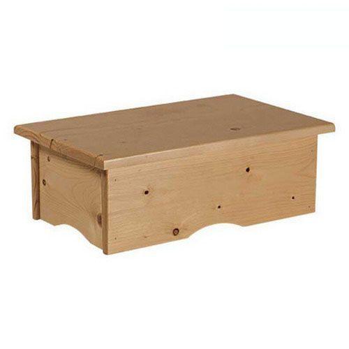 Banquito peldaño de madera Ecopostural A4412