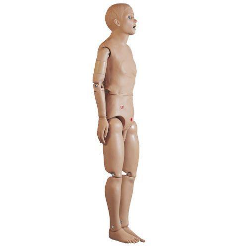 Mannequin pour soins hospitaliers de base masculin W45070