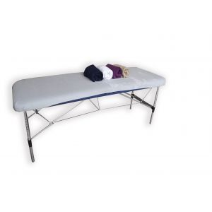 Housse éponge de protection pour table de massage avec option cavité visage Mediprem