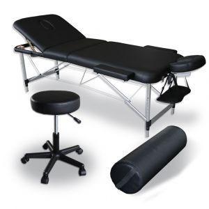 Pack Massage Mediprem : Votre table de massage avec tabouret et coussin de massage