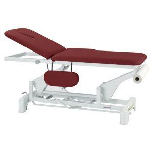 Table de massage hydraulique 2 plans avec accoudoirs Ecopostural C3750