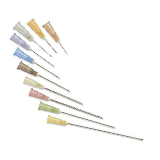 Aiguilles hypodermiques Roses Perce bouchon  40 mm - 12/10 - 18G 1 1/2 Terumo boîte de 100
