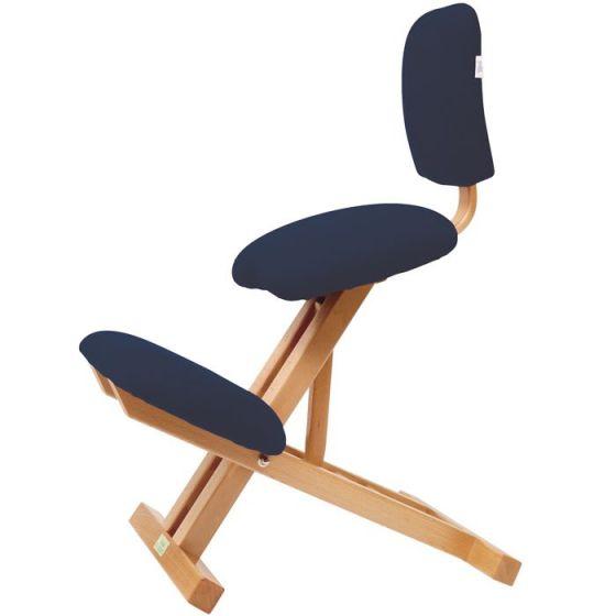 Chaise ergonomique pliable avec dossier Ecopostural S2105