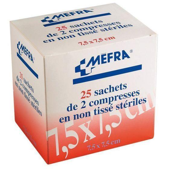 1 Boîte de compresses non-tissées stériles 3M Méfra