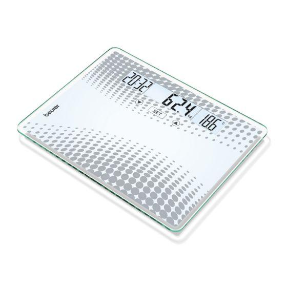 Pèse personne en verre Beurer GS 51 XXL Portée 200 kg
