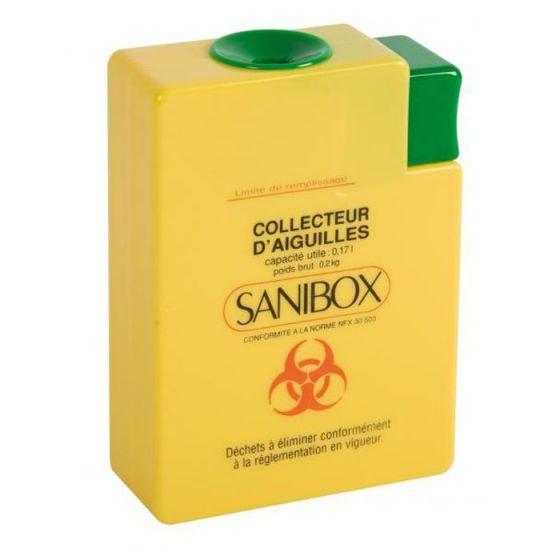 Récupérateurs d'aiguilles - Sanibox