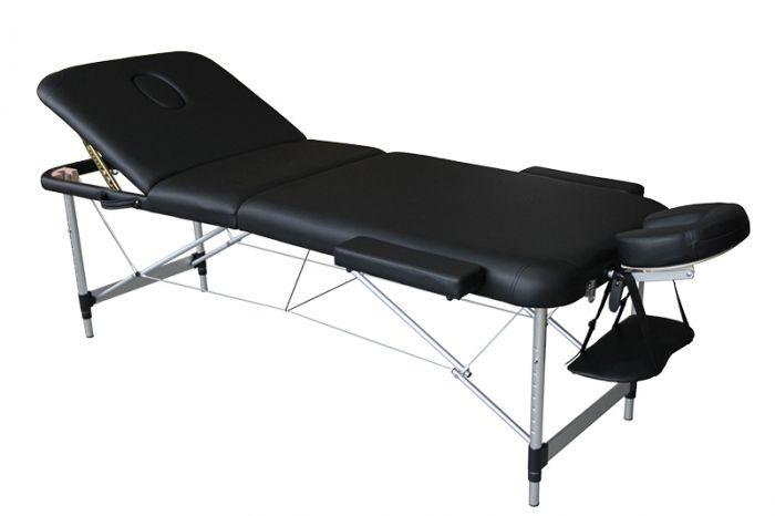 Table de Massage pliante Mediprem Eco Pro Alu Noire