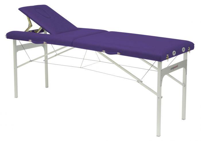 Table de massage avec tendeurs Ecopostural hauteur fixe C3415